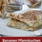 Bananen Pfannkuchen mit Chia Samen - Rezept