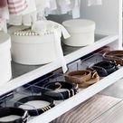 Schrankorganisation 5 Tipps für mehr Ordnung im offenen Kleiderschrank