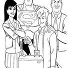 Superman Ausmalbilde zum Ausdrucken 9