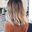 Ideas to go blonde   short icy balayage   allthestufficareabout.com