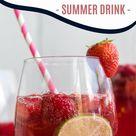 Moscato Sangria Summer Drink
