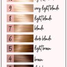 How To Read Hair Color Numbers And Letters ・ 2021 Ultimate Guide