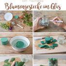 DIY - Blumengestecke im Glas - Leelah Loves