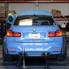 Watch the 2015 BMW M3 Sedan hit the dyno