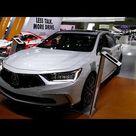 New 2020 Acura RLX Luxury Sedan - Exterior & Interior - 2019 LA Auto Show, Los Angeles CA
