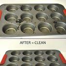 Clean Baking Pans