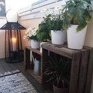 Ich liebe die Idee von Lichtern und Pflanzen. Pflanzen für die Sonne und für die Lichter – 2019   Patio Diy