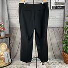 LOFT PLUS Black High Waist Trousers Size: 18plus