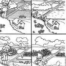 Dibujos de las CUATRO ESTACIONES