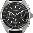 Bulova LIMITED EDITION Men's Special Edition Lunar Pilot Chronograph Black Leather Strap & Nylon Strap Watch 45mm 96B251 & Reviews - All Fine Jewelry - Jewelry & Watches - Macy's