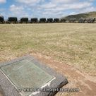 Photos and pictures of: Laager with bronze replicas of ox-wagons used by Voortrekkers at the Battle of Blood River, Blood River museum, South Africa | The Africa Image Library