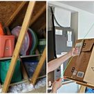 9 Tricks to Turn an Unfinished Attic Into a Savvy Storage Space