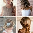 8 simple and festive hairstyles for children - Paul & Paula