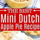 Mini Dutch Apple Pie
