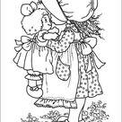 Kleurplaat Printen Sarah Kay 6