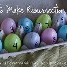 Sharing the Easter Story with Resurrection Eggs - Wildflower Ramblings New
