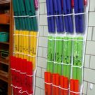 Shoe Storage for Boomwhackers: A Tutorial