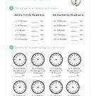 Uhrzeit lernen - MaterialGuru