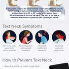 Text Neck Symptoms and Diagnosis