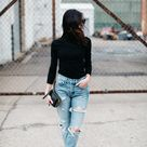 2 Ways to Style High Waisted Skinny Jeans • Wellesley & King