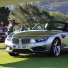 BMW Zagato Roadster Concept de 2012 en Pebble Beach, California, USA. Motor de 3000 cc y 400 CV. Solo una unidad fabricada.