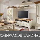Wohnzimmermöbel Landhaus Weiß
