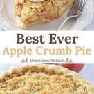 Dutch Apple Crumb Pie - Adventures of Mel