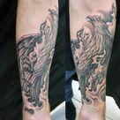 60 Phoenix Tattoo Designs For Men - A 1,400 Year Old Bird