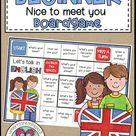 Englisch Unterricht Spiel: Nice To Meet You Boardgame for English Beginners | Englisch Unterricht