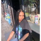 big box braids jumbo with curly ends