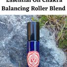 Root Chakra Essential Oil Chakra Balancing Roller Blend