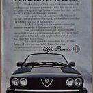 1983 ALFA ROMEO GTV 6 advertisement, Alfa Romeo GTV 6