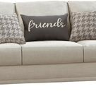 Coaster® Glenn Light Grey Cushion Back Sofa-511094