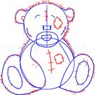 How To Draw Tatty Teddy The Me To You Bear, Step by Step, Drawing Guide, by Dawn