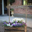 Sponsrat inlägg: DIY patinerade blomsterlådor och skyltar - Trendenser