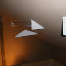 Slanted Ceiling Closet