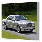 Box Canvas Print. Bentley Continental R, 2002, Silver