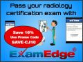 Exam Edge Radiology Certifications - Save 10% Exam Edge Discount