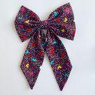 Confetti Hearts - Sailor Bow - Large