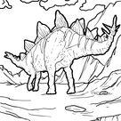 Unterscheiden Von Malvorlagen Dinosaurier Kostenlos Ausdrucken  Für Entwickelt Räumliches Bew...