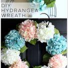 DIY Hydrangea Wreath (so easy, you can make your own!) - Artsy Chicks Rule®