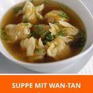 Suppe mit Wan-Tan