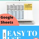 Monthly Budget Template   Zero Based Budget   Google Sheets