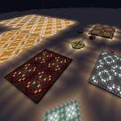 Glowing terracotta floor design