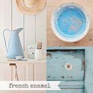 Miss Mustard Seed Milk Paint French Enamel, Blue Paint, Blue Gray Paint, Furniture Paint, Chalk Pain
