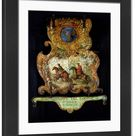 Large Framed Photo. Sign for the Royal Mail of Chantilly with
