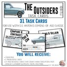 Task Cards   The Outsiders