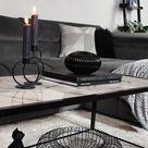 Das klassische Interior-Duo Black & White schafft einen modernen und zeitlosen Look