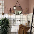 Wandgestaltung Badezimmer Farbe