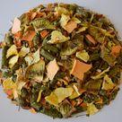 Tropical Crunch Mix | Organic Blend of Timothy Pellets, Fruits, & Herbs | Mimics Natural Foraging Instinct